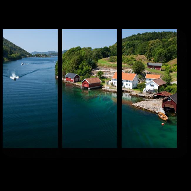 Модульная картина Прекрасная Норвегия
