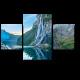Водопад 7 сестер в норвежских фьордах