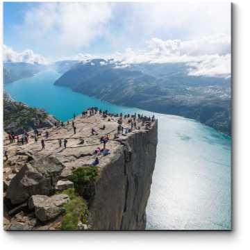 Модульная картина Люсе-фьорд, Норвегия