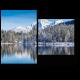 Красота горного озера