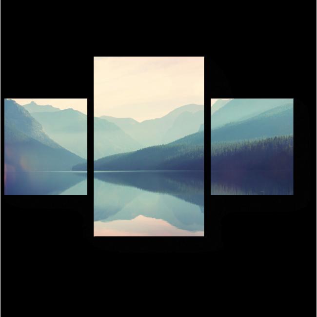 Модульная картина Национальный парк Глейшер, США