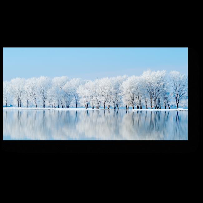Модульная картина Зимняя тишина