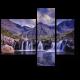 Водопады в горах