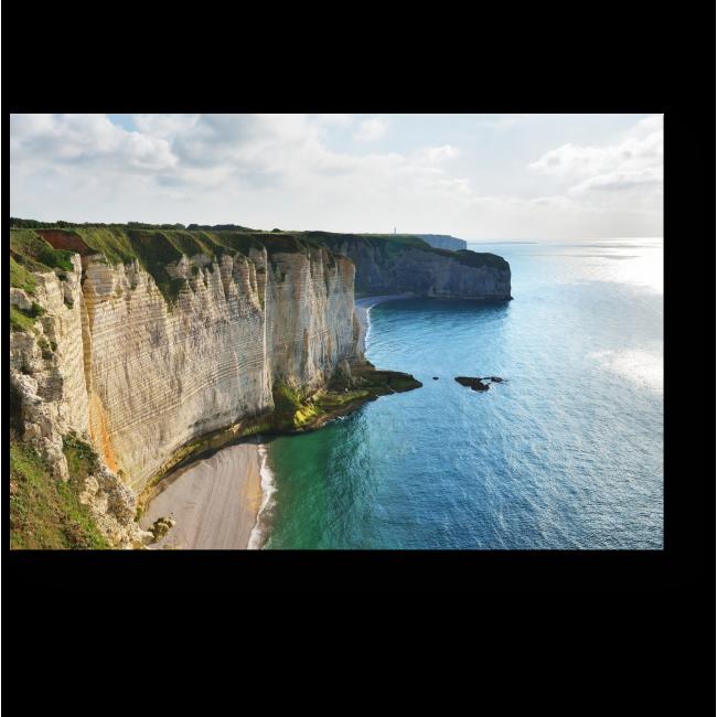 Модульная картина Вид на белые утесы Этрета в Нормандии