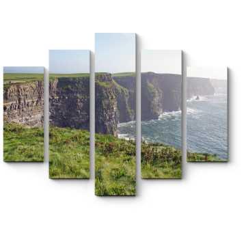 Модульная картина Чарующие скалы на побережье Ирландии