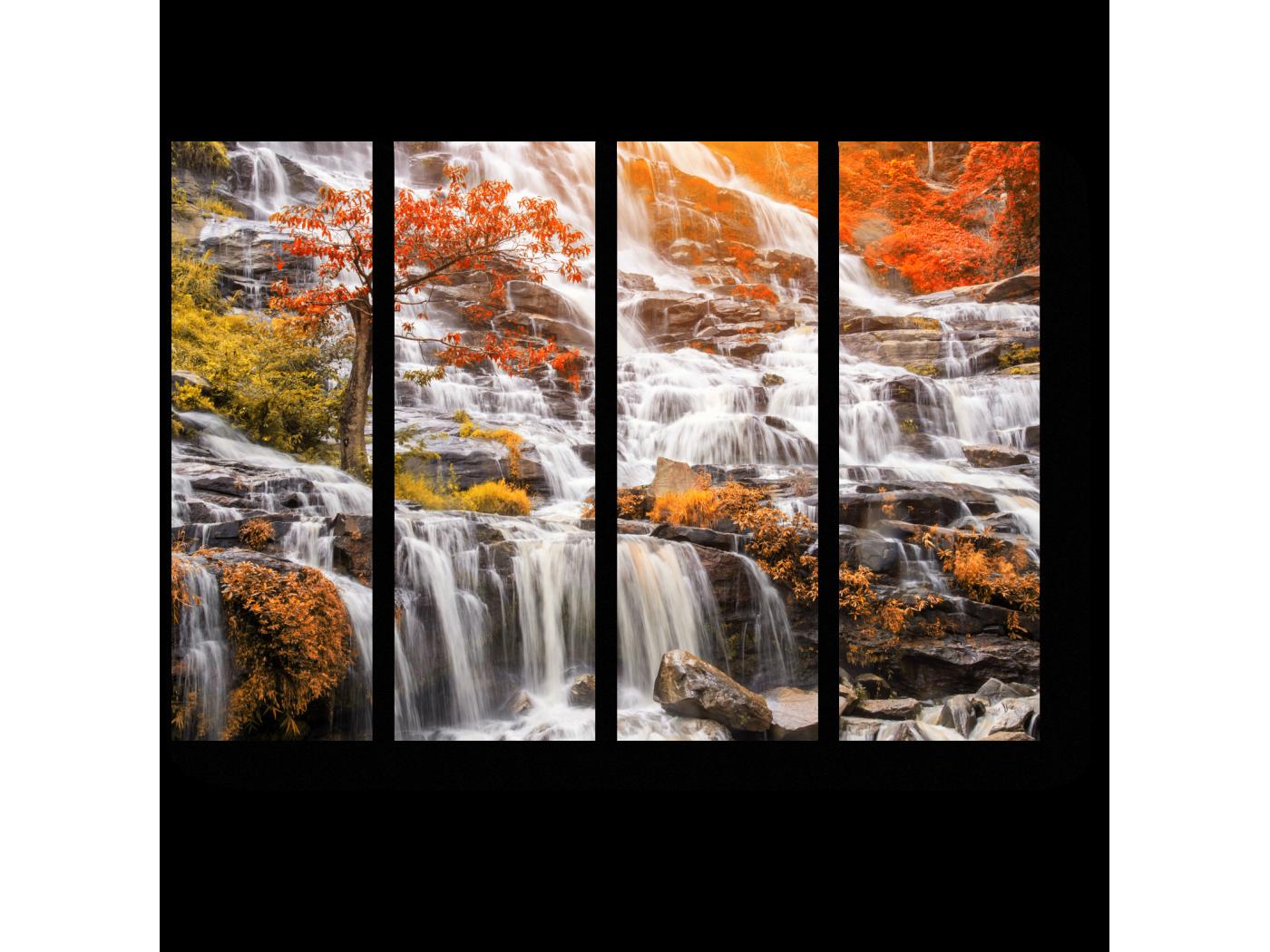 Модульная картина Райский водопад, Тайланд (60x45) фото