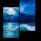 Полнолуние над океаном