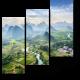 Китайская провинция с высоты птичьего полета