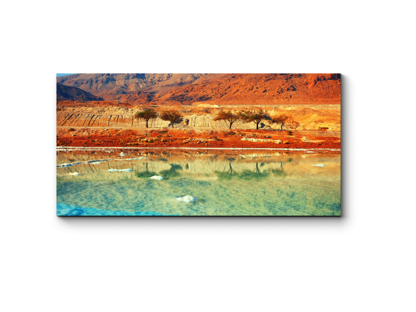 Модульная картина Мертвое море (40x20) фото