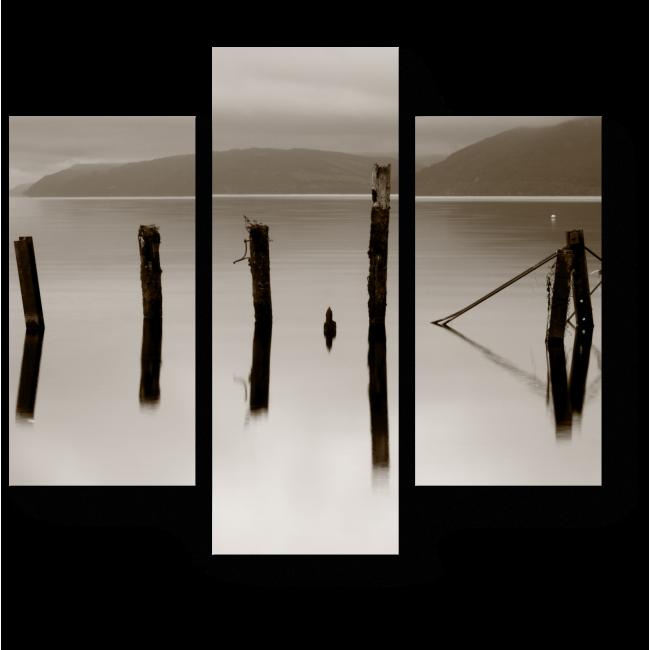 Модульная картина Озеро Лох Несс