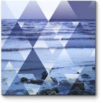 Модульная картина Океанский узор