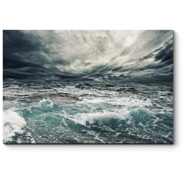 Модульная картина Море волнуется раз