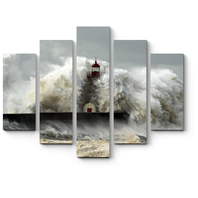 Модульная картина Необузданная стихия