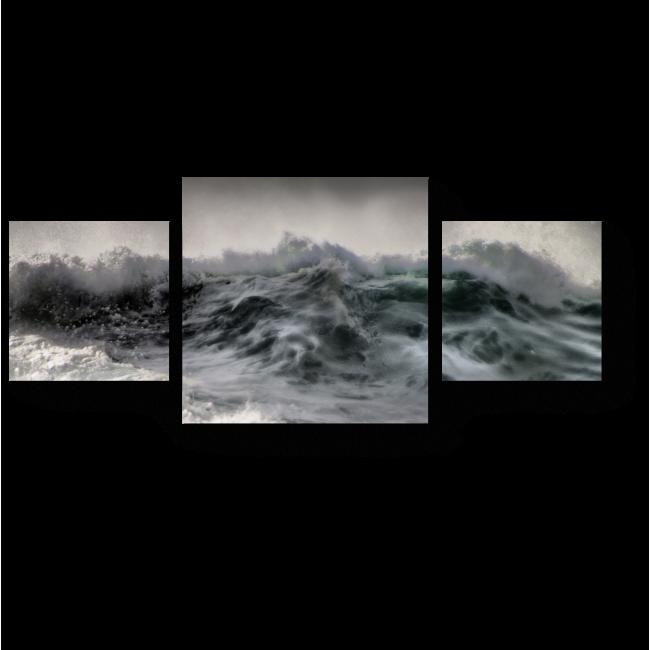Модульная картина Перед штормом