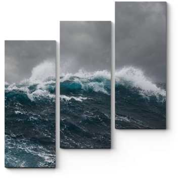 Модульная картина Буйство водной стихии