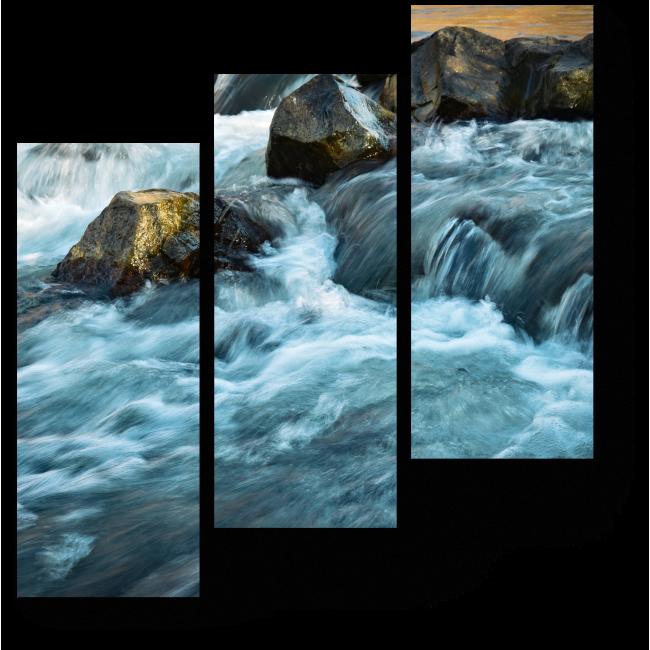Модульная картина Шум воды