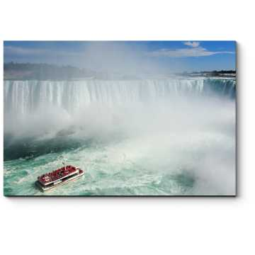 Модульная картина У Ниагарского водопада
