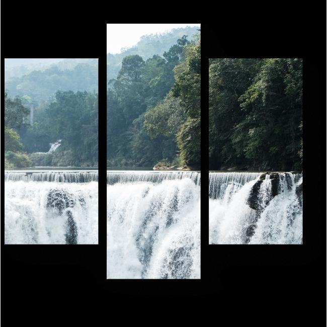 Модульная картина Водопад  Шифен, Тайвань