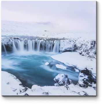 Модульная картина Ледяная красота Исландии