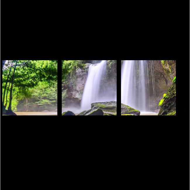 Модульная картина Райский водопад