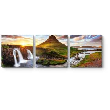Модульная картина Живописный пейзаж Исландии