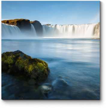 Модульная картина Водопад Годафосс