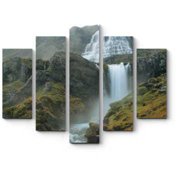 Модульная картина Водопад Диньянди
