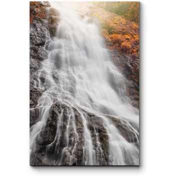 Модульная картина Огромный водопад
