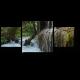 Водопад в лесу