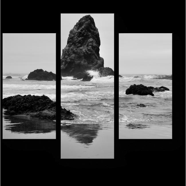 Модульная картина На берегу