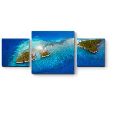 Модульная картина Чарующая синева воды