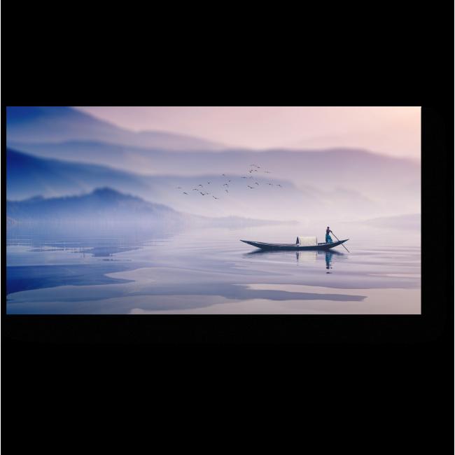 Модульная картина Плывущий в тумане
