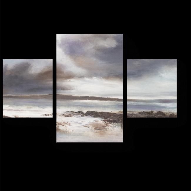 Модульная картина Морской пейзаж Бурного моря