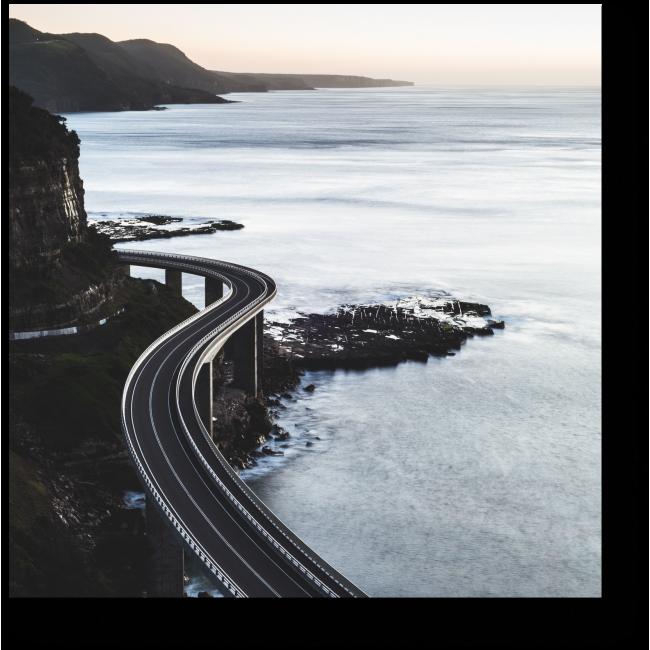 Модульная картина Удивительная дорога