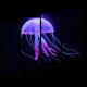 Светящаяся неоновая медуза