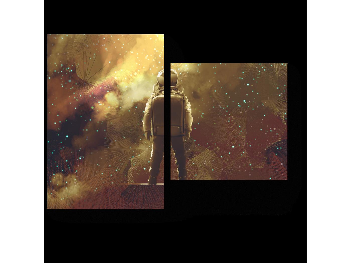 Модульная картина Бесконечность (40x30) фото