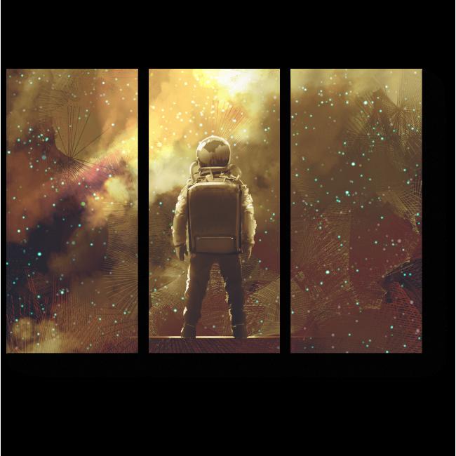 Модульная картина Бесконечность