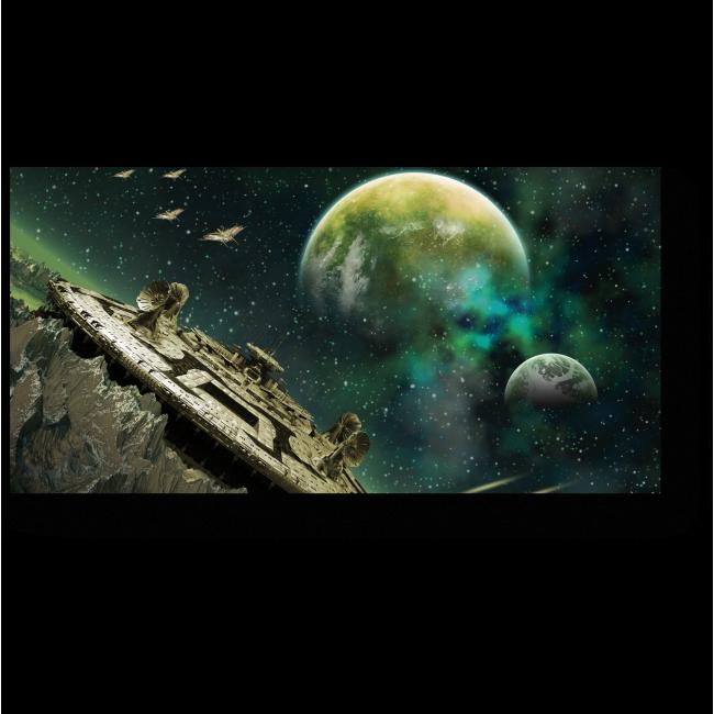Модульная картина Другая луна