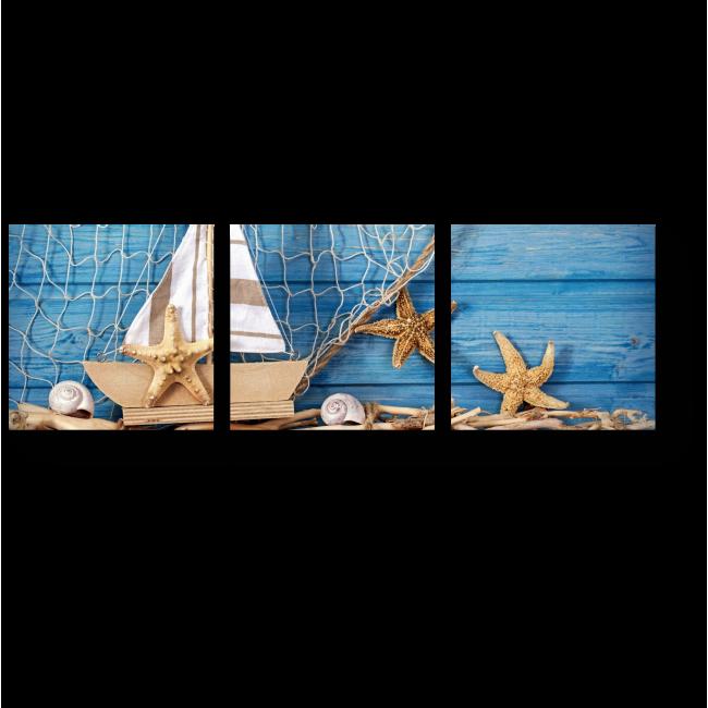 Модульная картина Кусочек моря