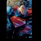Супермен, разбивающий стену