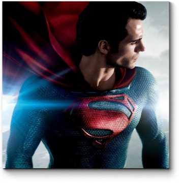 Модульная картина Супермен