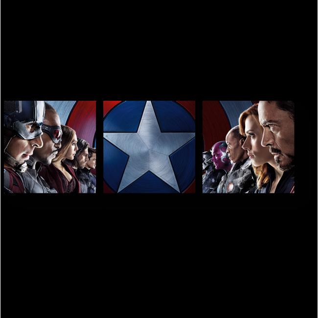 Модульная картина Раскол среди героев