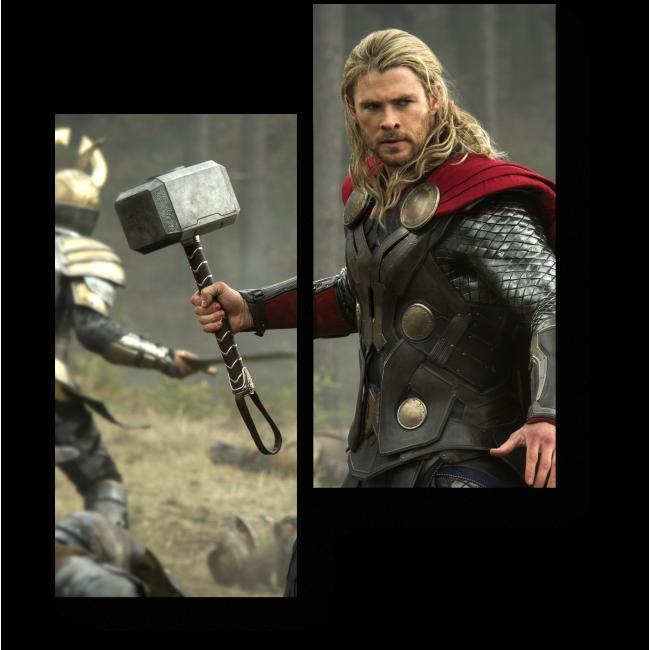 Модульная картина Тор