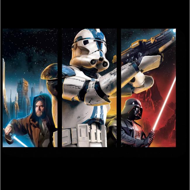 Модульная картина Звездные воины