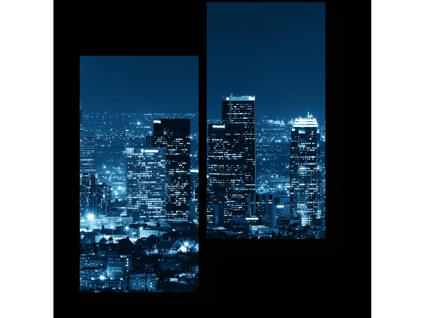 Модульная картина Урбанистический пейзаж (40x50) фото