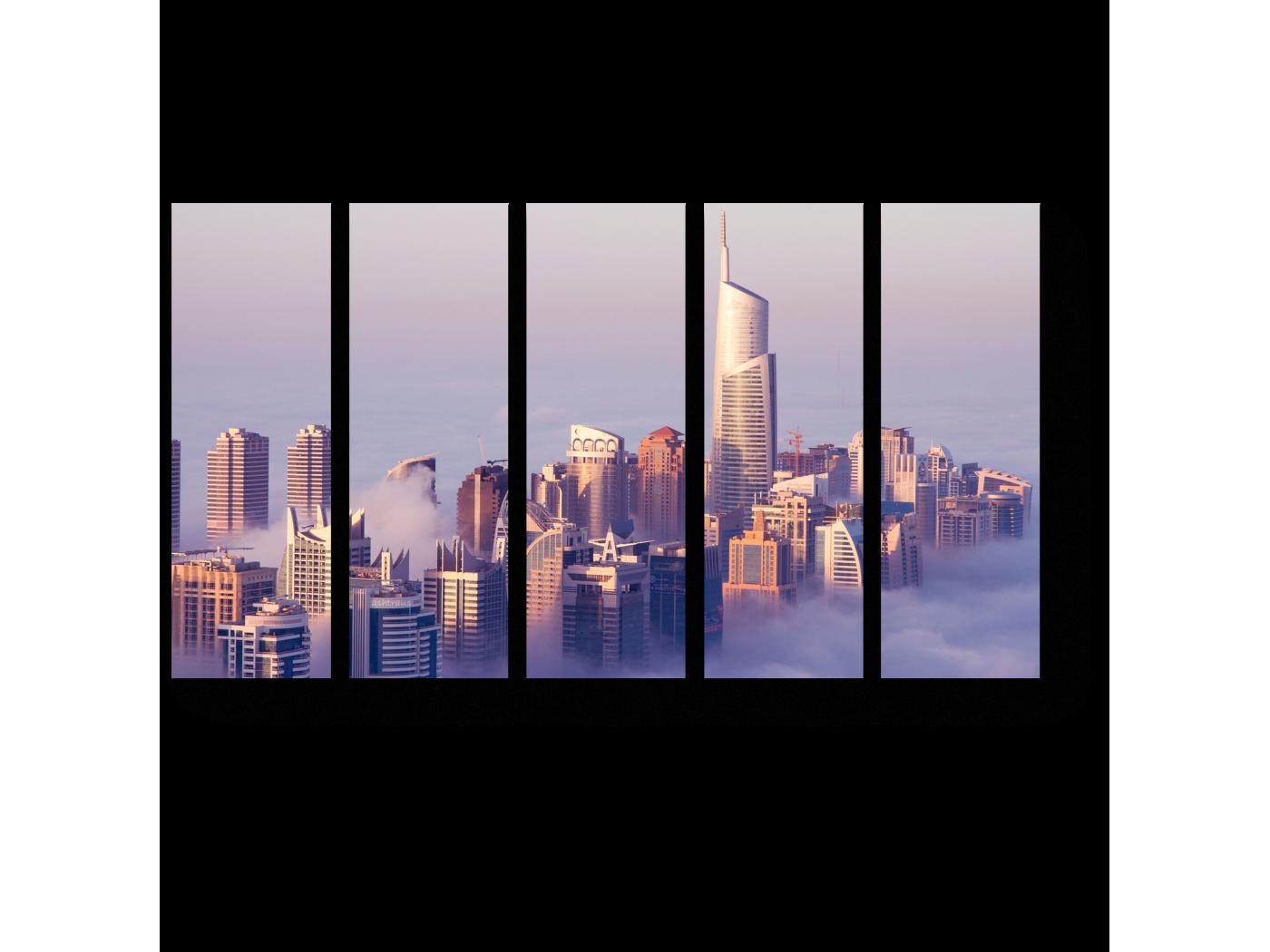 Модульная картина Выше облаков (90x54) фото