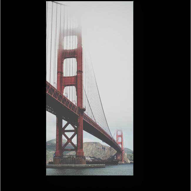 Модульная картина Мост через время