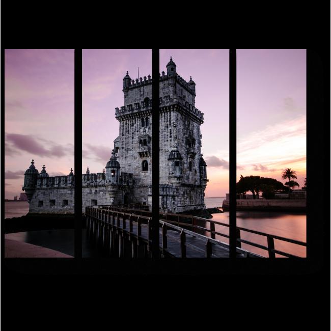 Модульная картина Сказочный замок