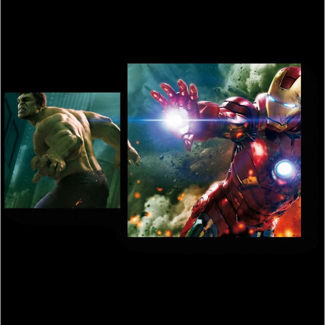 Модульная картина Мстители
