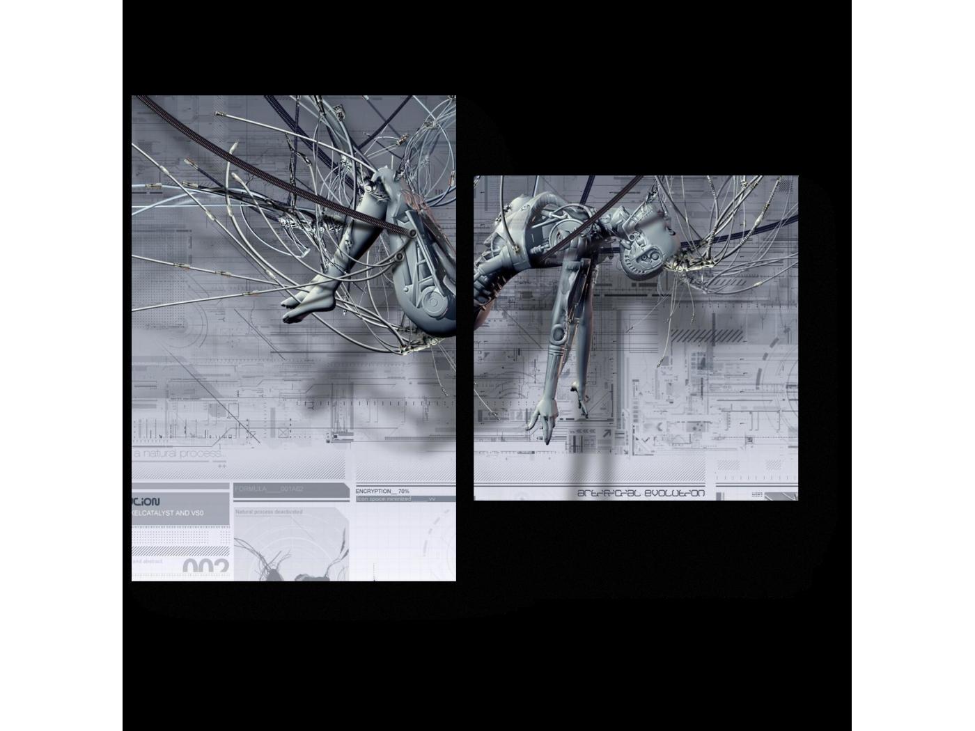 Модульная картина Технологии будущего (40x30) фото